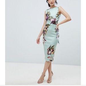Dresses & Skirts - Backless ASOS floral dress